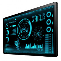 """INDUSTRIAL TOUCH MONITOR KEETOUCH 32"""" OPEN FRAME KOT-0315U-CA4P"""