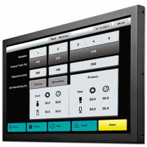 """INDUSTRIAL TOUCH MONITOR KEETOUCH 23"""" OPEN FRAME KOT-0230U-CA5P"""