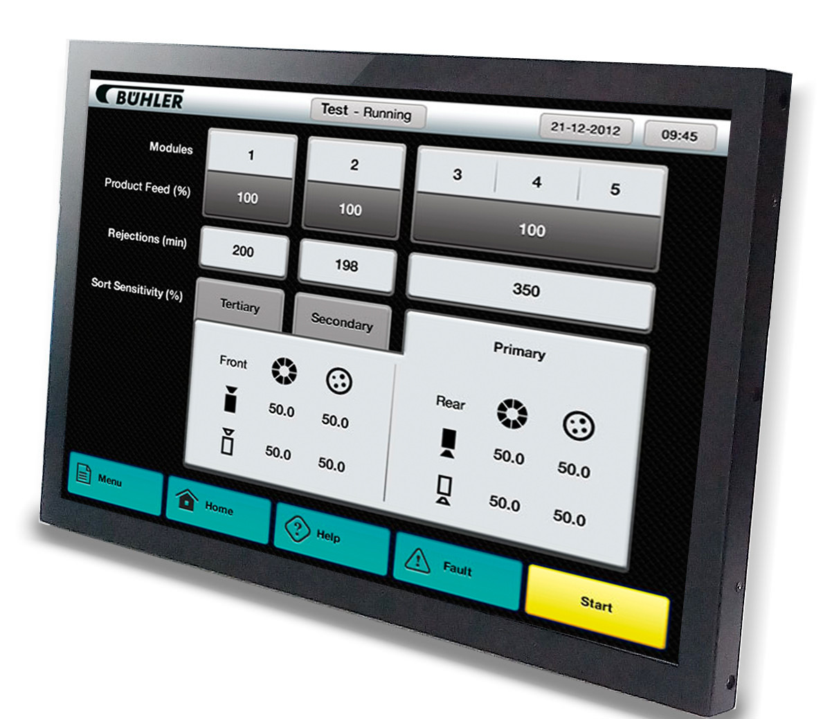 """INDUSTRIAL TOUCH MONITOR KEETOUCH 24"""" OPEN FRAME KOT-0240U-IR3P"""