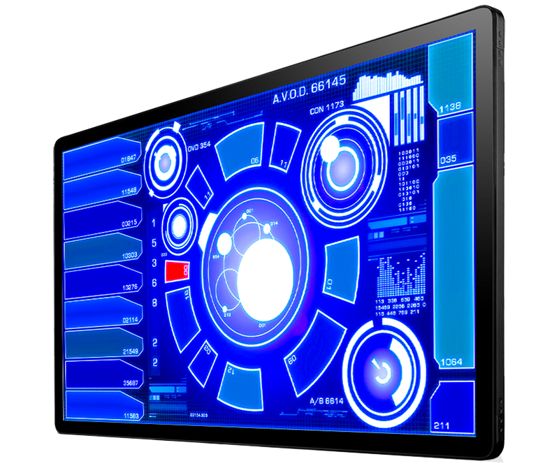 "INDUSTRIAL TOUCH MONITOR KEETOUCH 43"" OPEN FRAME KOT-0430U-CA4P"