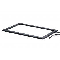 "TOUCH FRAME WITH GLASS KEETOUCH 19""w KCI-U0190M3-R3G-W-01"