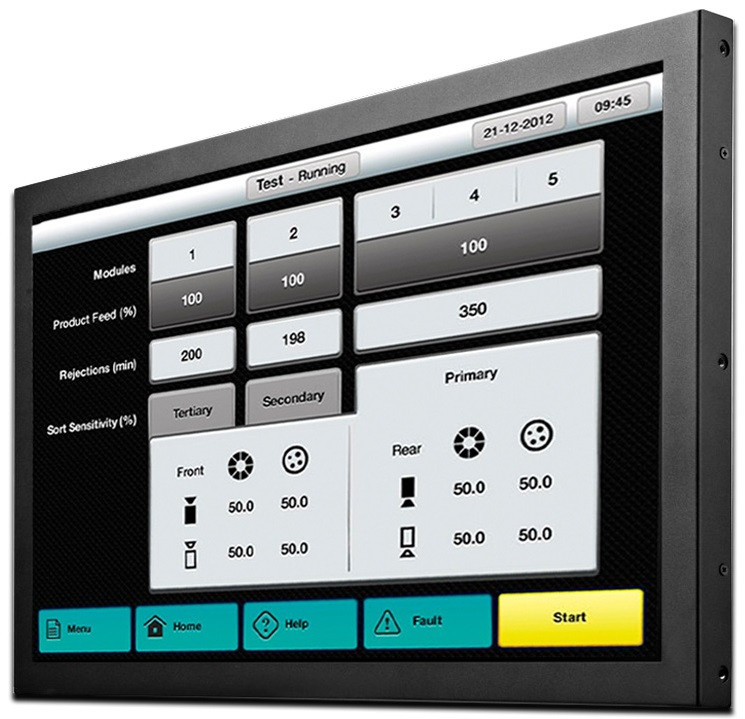 """INDUSTRIAL TOUCH MONITOR KEETOUCH 23"""" OPEN FRAME KOT-0230U-CA4P"""