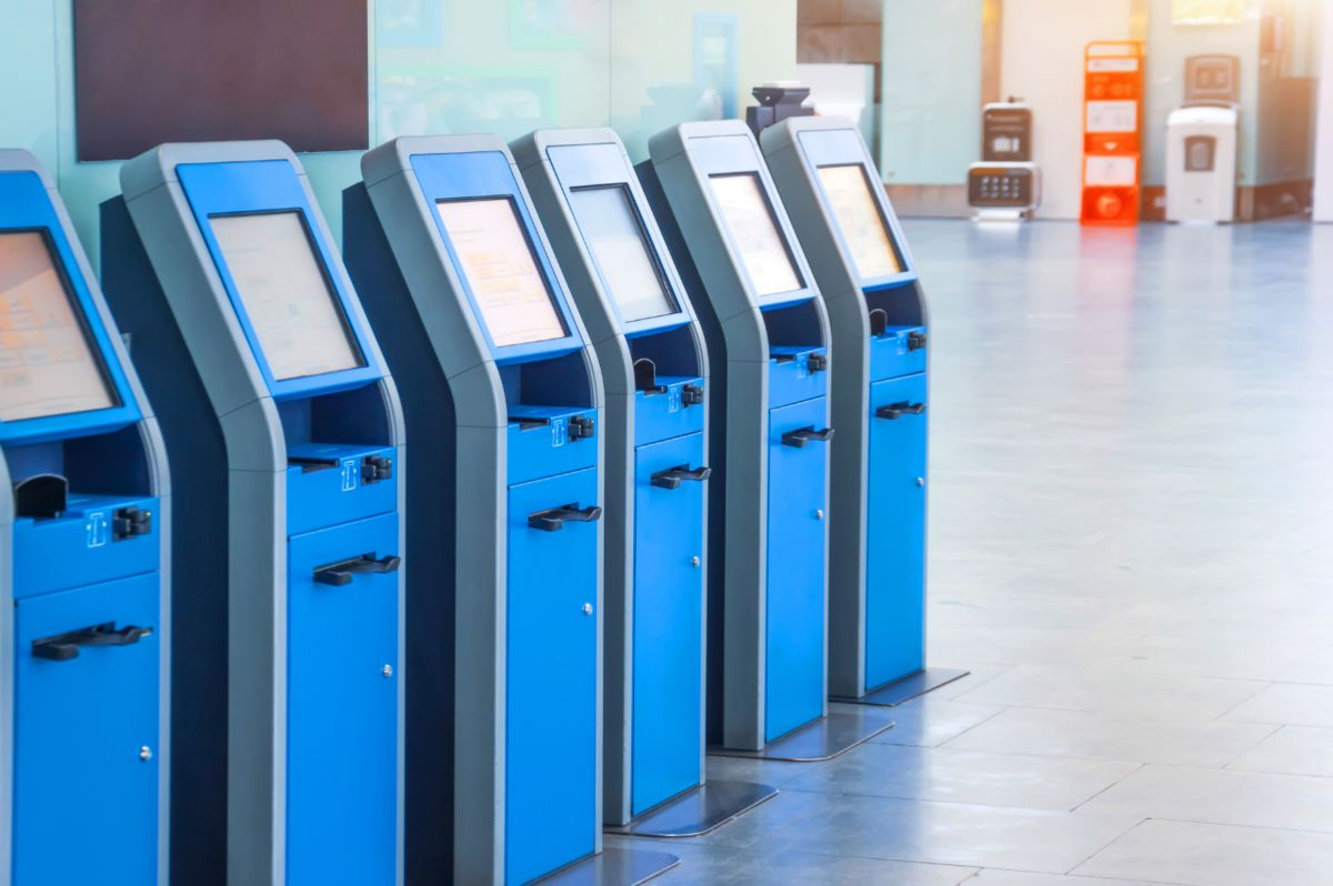 ATMs and kiosks
