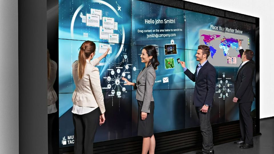 TOUCHSCREEN VIDEO WALL