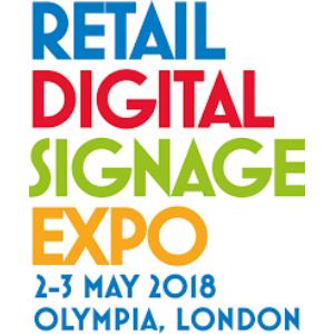 RETAIL DIGITAL SIGNAGE EXPO (RDSE) LONDON 2018