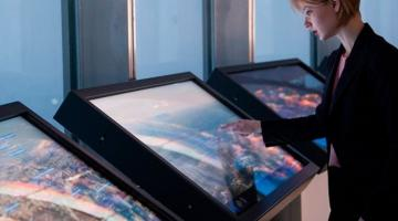 LARGE FORMAT TOUCHSCREEN MONITORS: UP TO 86-INCH